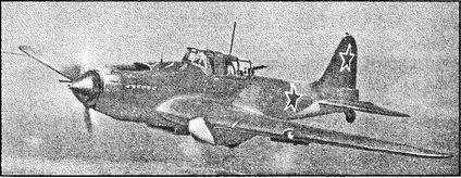 Советский штурмовик Ил-2.