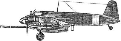 Немецкий штурмовик «Хеншель-129».