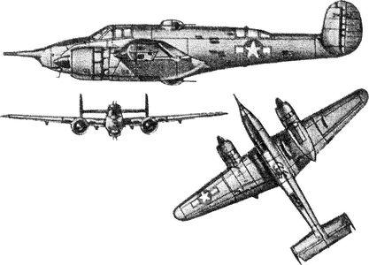 Американский самолет ХА-38 «Гризли».