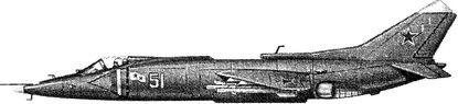 Палубный истребитель Як-38.