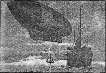 «Америку-II» берет на буксир норвежское судно для возвращения на Шпицберген.