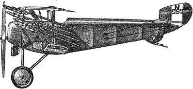 Истребитель с противодирижабельными ракетами. 1917 год.
