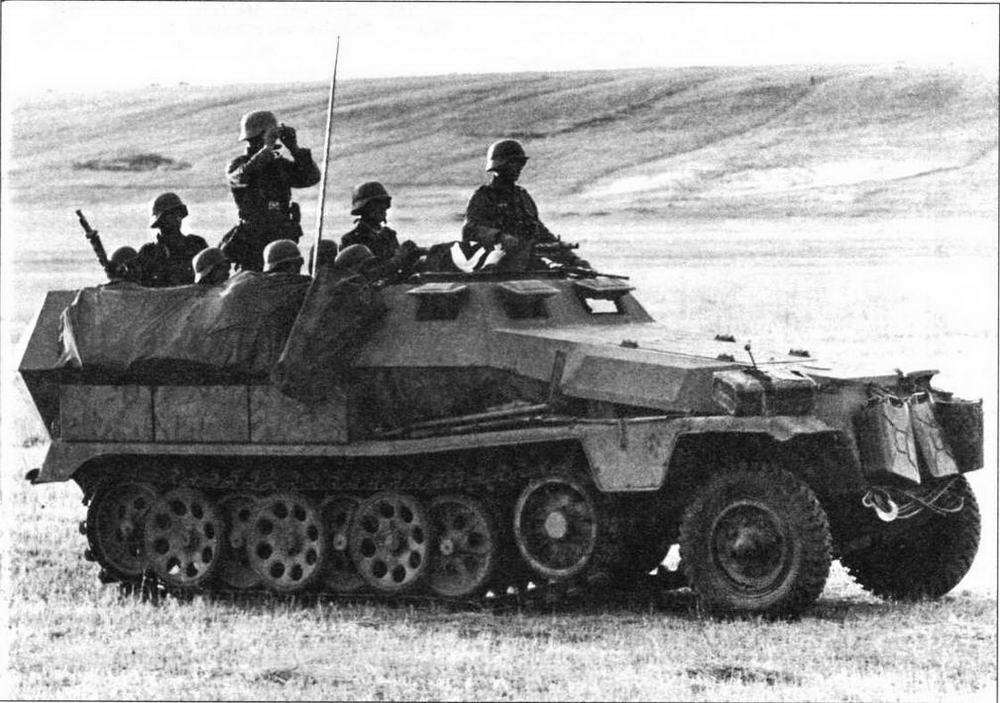 Бронетранспортер Sd.Kfz.251 Ausf.C. Восточный фронт, 1941 год
