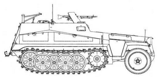 Sd.Kfz.250/2 Alt