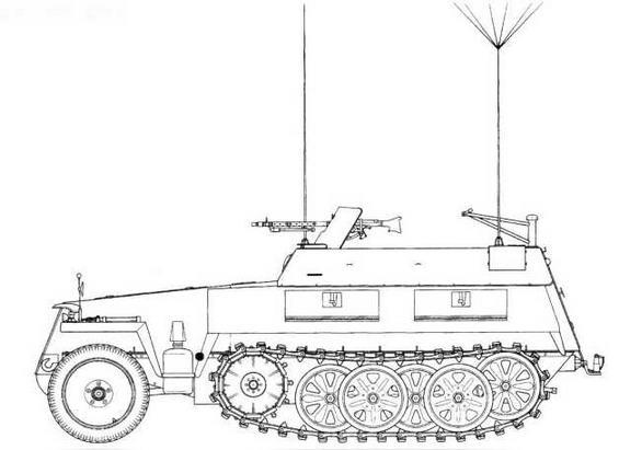 Sd.Kfz. 250/3 I Neu