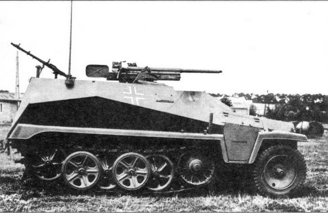 Легкий бронетранспортер Sd.Kfz.250