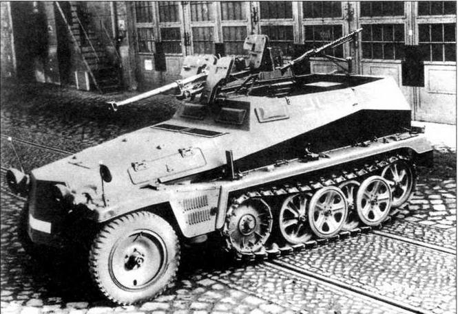 Бронетранспортер Sd.Kfz.250/11 Alt, вооруженный тяжелым противотанковым ружьем sPzB 41