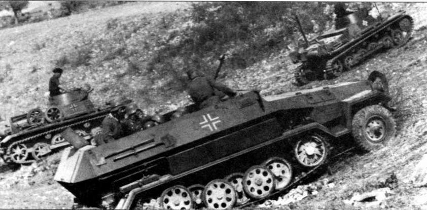 Бронетранспортер Sd.Kfz.251 Ausf.B. Греция, 1941 год