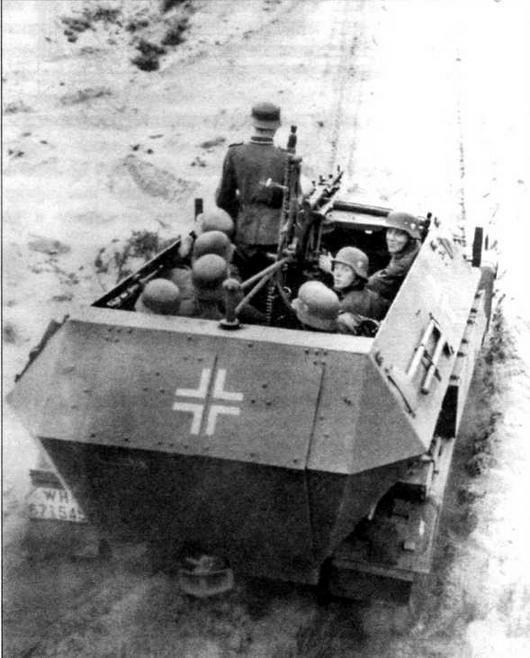 Броне транспортер Sd.Kfz.251 Ausf.B
