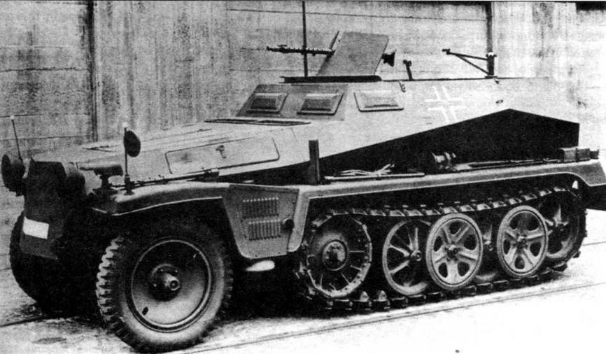 Легкий бронетранспортер Sd.Kfz.250/1 Alt