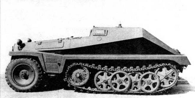 Бронетранспортер для перевозки боеприпасов Sd.Kfz.252