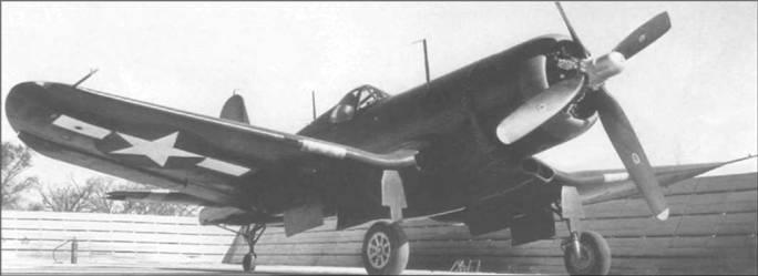 XF4U-3B (BuNo 49664) представлял собой доработанный F4U-1A, на котором установили турбонагнетатель Бирмэн. Эта модификация «Корсара» развивала максимальную скорость 667 км/час, но в серию не пошла. Передняя часть капота на прототипе была окрашена в красный цвет.