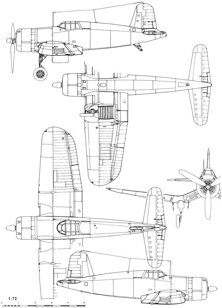 "Chance Vought XF4U-1 ""Corsair"""
