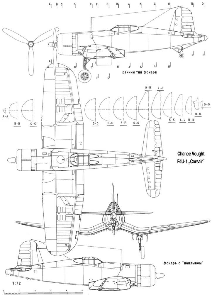 "Chance Vought F4U-1 ""Corsair"""