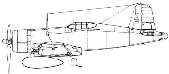 F4U-1 с 674 л баком