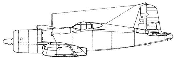 F4U-1M – летающая лаборатория с двигателем XR-4360 Wasp Major