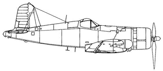 F4U-2 – вид остальных серийных машин