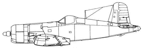 F4U-4 поздних серий