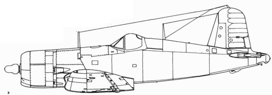 F4U-4 ранняя версия