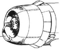 F4U-4 нижний воздухозаборник