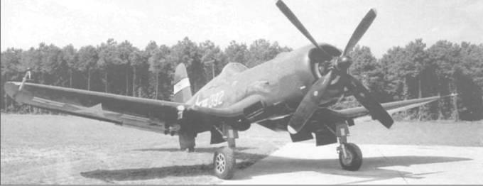 В марте 1950 года F4U-4B (BuNo 97392) был передан в испытательный центр в Патуксент Ривер, Мэриленд. «Корсар» несет на вертикальном оперении желтую полосу с надписью NACA.