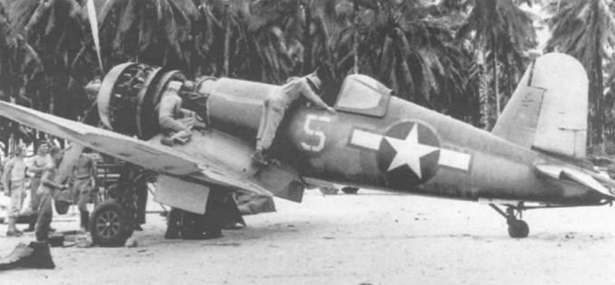 На этом F4U-1A (BuNo 17656) из VF-17 летал лейтенант Том Киллифер, который в марте 1944 года из-за отказа двигателя совершил вынужденную посадку на острове Нисан. За время своей службы Киллифер одержал четыре с половиной победы.
