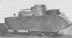 Бронеавтомобиль БАД-2 в первоначальном виде с фарами малого диаметра и кожухами для вентиляции боевого отделения.