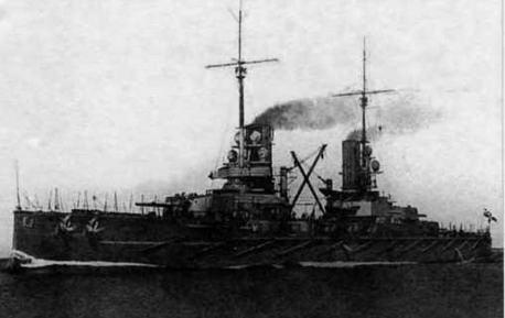 """Линейный корабль """"Принц-регент Луитпольд"""" на ходовых испытаниях"""