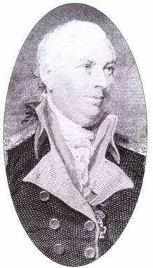 Джон Барри, американский герой времен революции. Он был первым капитаном фрегата United States, первого корабля, введенного в строй после революции.