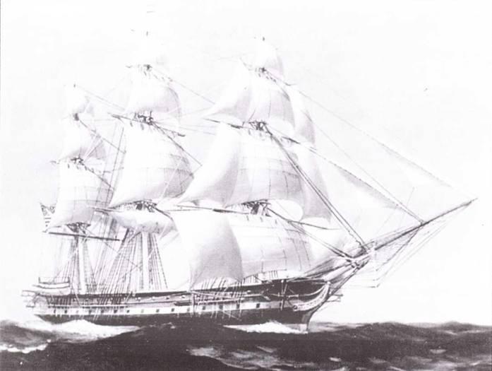 USS Independence оказался неудачным линейным кораблем, но превосходным фрегатом.
