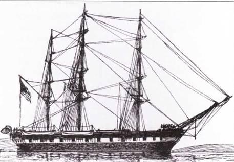Congress был последним парусным фрегатом, спроектированным и построенным для флота Соединенных Штатов. Спущенный на воду в 1842г. он считался гордостью флота, пока не был потоплен в бою с CSS Virginia.
