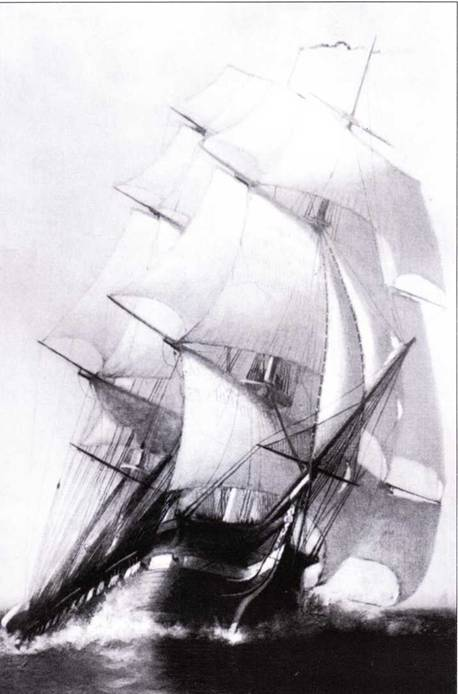 Constitution оставался одним из главных кораблей американского флота на протяжении более чем сорока лет вплоть до начала 1850-х гг.