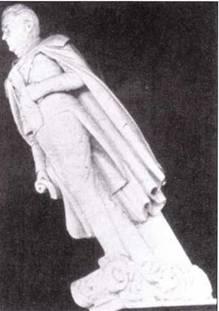 Во время ремонта в 1830г. на носу фрегата Constitution установили фигуру Эндрю Джексона. Позднее скульптура потеряла голову, но оставалась на носу фрегата вплоть до конца XIX века.