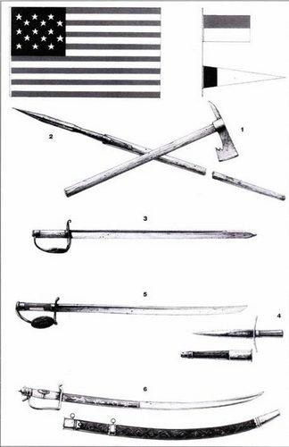 Флаги и оружие