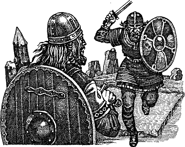 Поединок у викингов