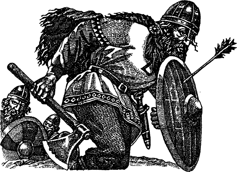 Викинг с топором