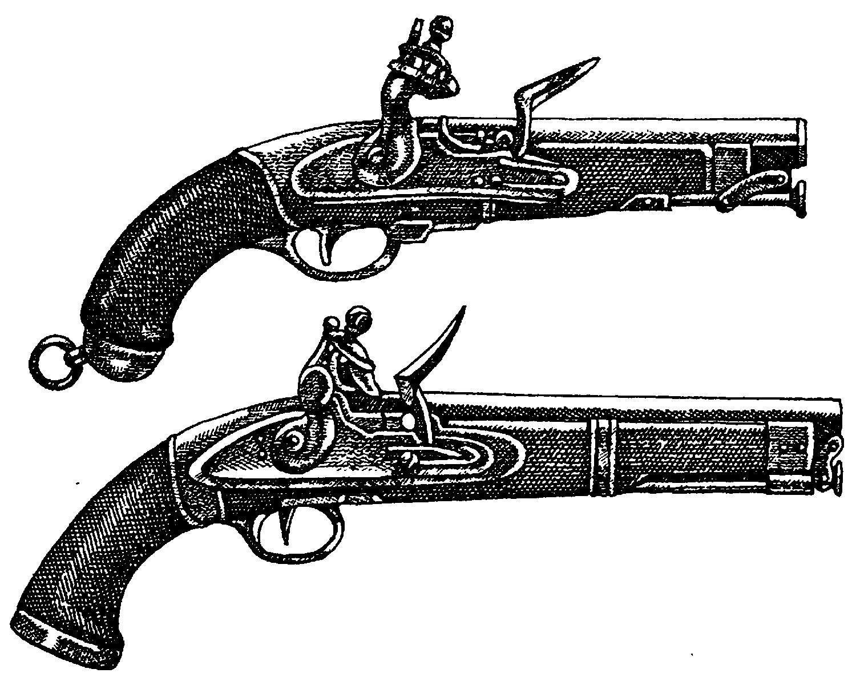 Колесцовые кавалерийские пистолеты