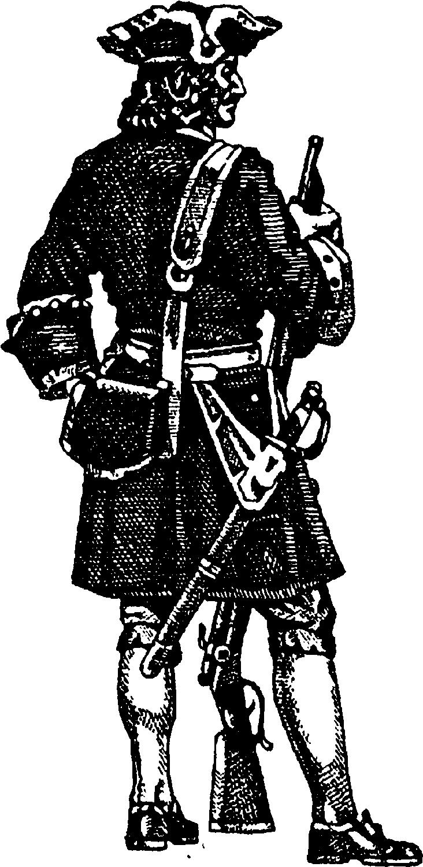 Стандартизация оружия и формы при Петре I