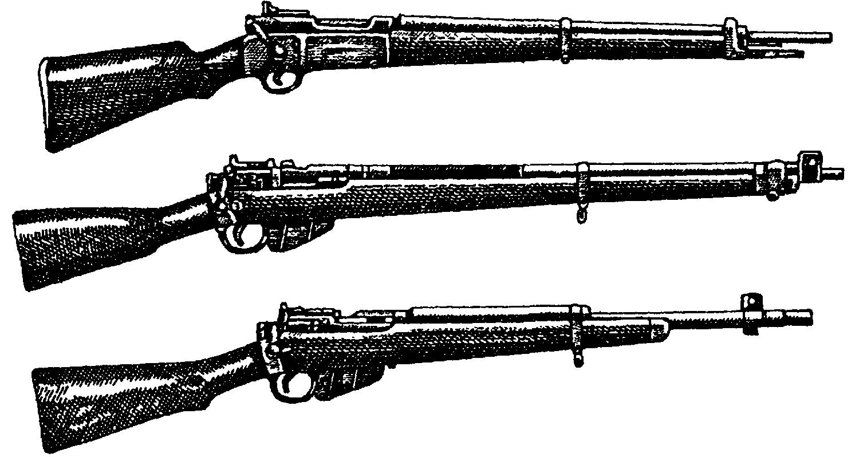 Модификации мосинской винтовки иностранными государствами