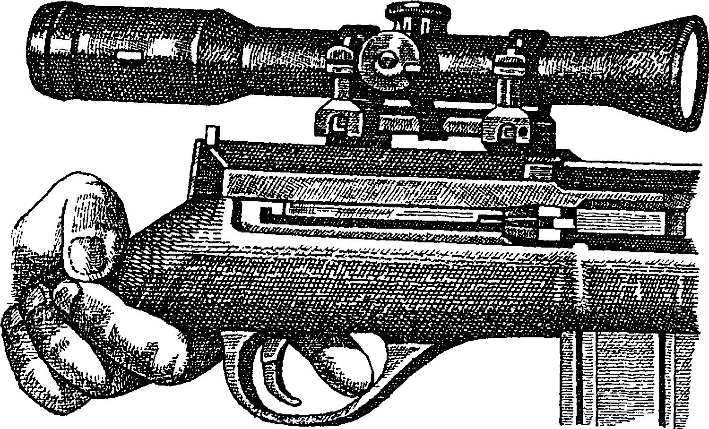 Снайперская винтовка SSG–96