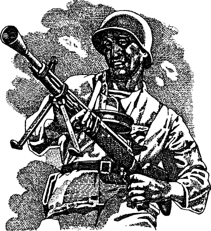 """1. """"Дегтярев"""" (ДПМ), 1945 г.2. Ручной пулемет ДП (Дегтярева, пехотный)"""