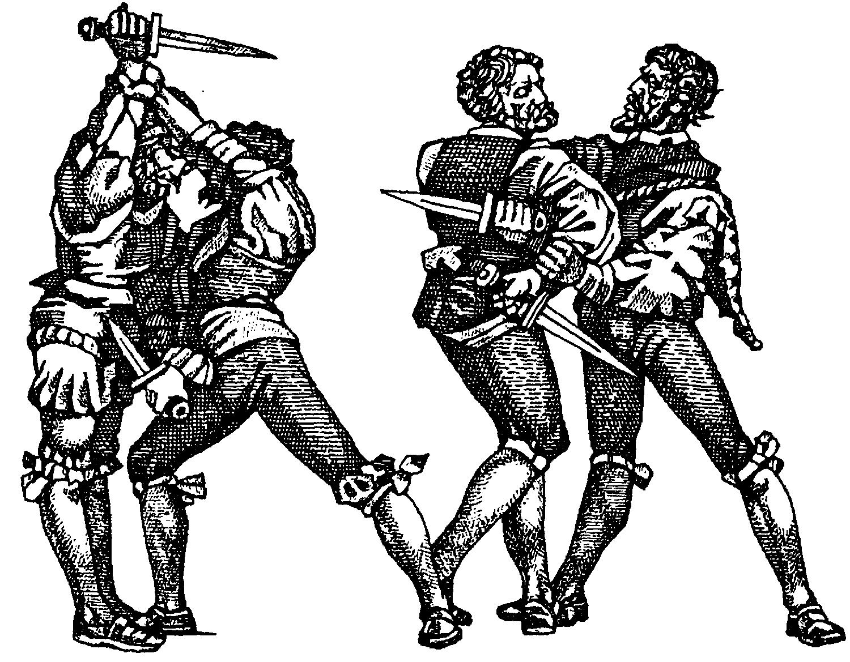 Кинжальный бой