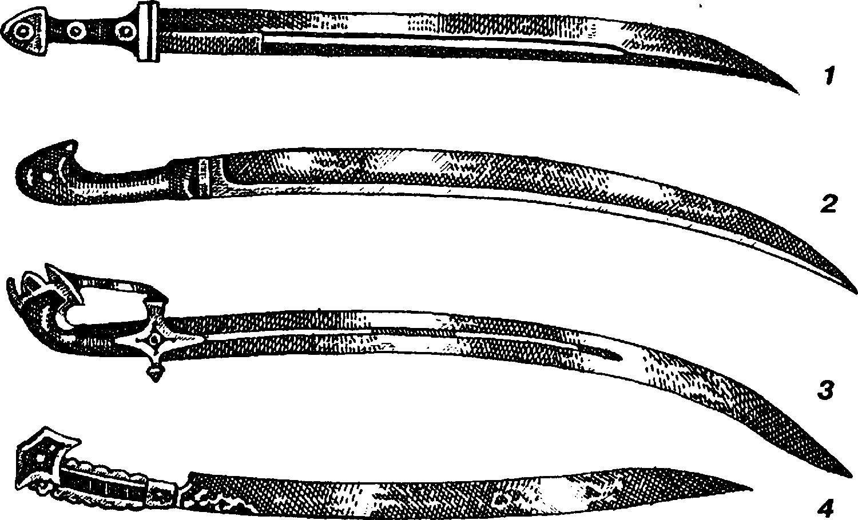 Однолезвейнные клинки