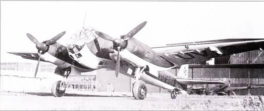 Ju-88B VI выполнил первый полет в начале 1940 г. Самолет представлял собой Ju-88A-I с совершенно новой носовой частью фюзеляжа.