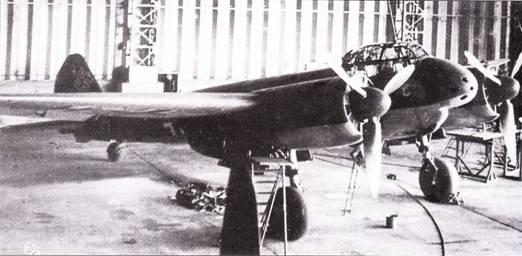 Тяжелый истребитель Ju-88C-6 предназначался для использования днем и ночью.