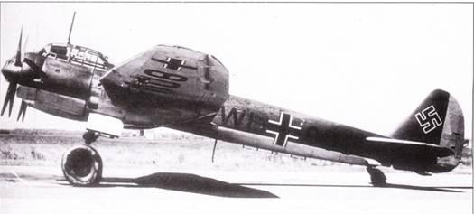 Восьмой из десяти предсерийных самолетов Ju-88A-O отличался четырехлопастными воздушными винтами. Самолет использовался Erprobungsstelle- 88 в Рехлине для испытаний.