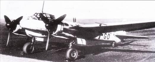 Многие ночные истребители, подобно этому Ju-88C-6 были вооружены двумя пушками MG-151/20, установленными в фюзеляже за кабиной стволами вверх – система Schrage Musik.