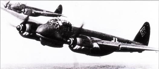 Истребители Ju-88C из VJKG-40 часто летали над Бискайским заливом, где охотились за британскими морскими самолетами, которые, в свою очередь, не давали спокойно плавать U-ботам. Позже V./KG-40 были переименована в 1-ю группу Zerstorergeschwader- 1, но задачи группы не изменились.