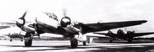 Истребители Ju-88C из V./KG-40.