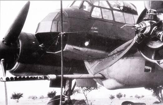 Известный как «die dicke Bertha» самолет Ju-88P VI представлял собой Ju-88A-4, переделанный под установку 75-мм противотанковой пушки KwK-39 с ручной перезарядкой. Ствол орудия немного отклонен вит от продольной оси самолета – так удобнее поражать наземные цели в пологом пикировании. Серийные Ju-88P-I не имели остекления в носовой части фюзеляжа и вооружились более совершенными 75-мм пушками KwK-40.